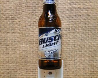 Busch Light 12oz. Glass Bottle Night Light