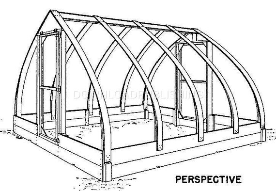 Archroof greenhouse blueprints plans plastic by for Indoor gardening pdf