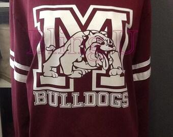 Millsap Bulldogs long sleeve