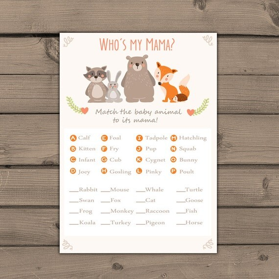 Tactueux image within baby animal match game printable