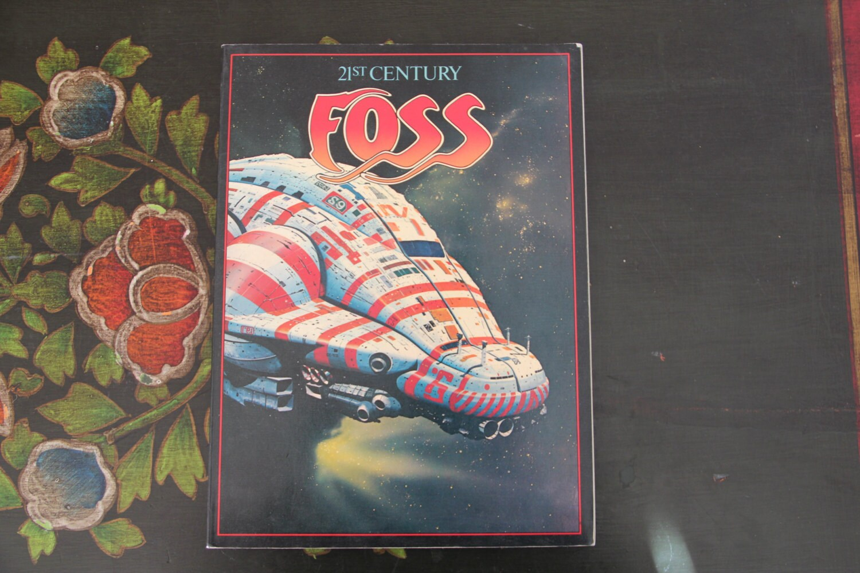 21st Century Foss Book 1979 Spaceage Art Work Alien By So1980s