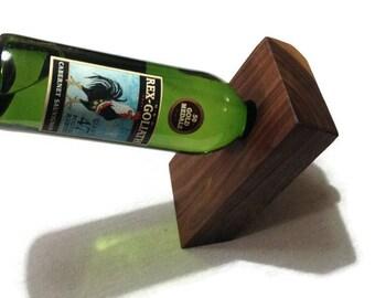 Balancing Wine Bottle Holder Walnut