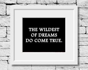 Dreams Quote, Motivational Quote, Dream Quote, Positive Thinking Quote, Classroom Print, Inspirational Quote