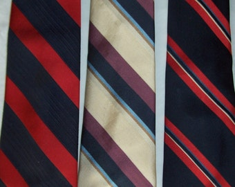 Vintage Countess Mara neck-ties THREE  for the price of one.  Beautiful , really excellant condition !