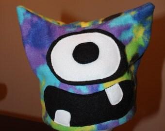 Child's Fleece Monster Hat