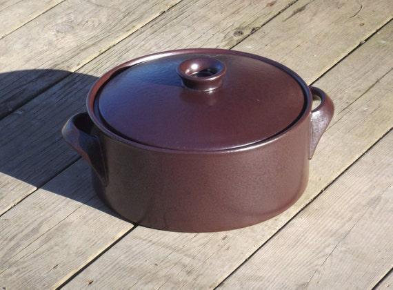 Vintage Stig Lindberg Oven Proof Lidded Casserole Baking Dish