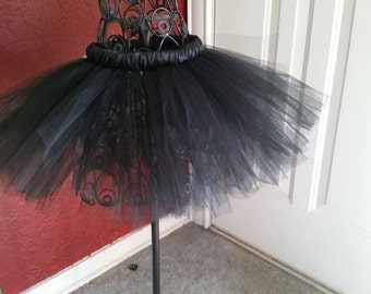 black tutu, newborn, baby, infant, toddler, child,  Halloween, new year, wedding