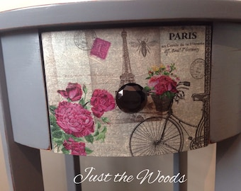 SOLD- sweet paris side table