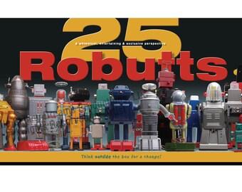 25 Robutts™, 40 x 20 Art Print