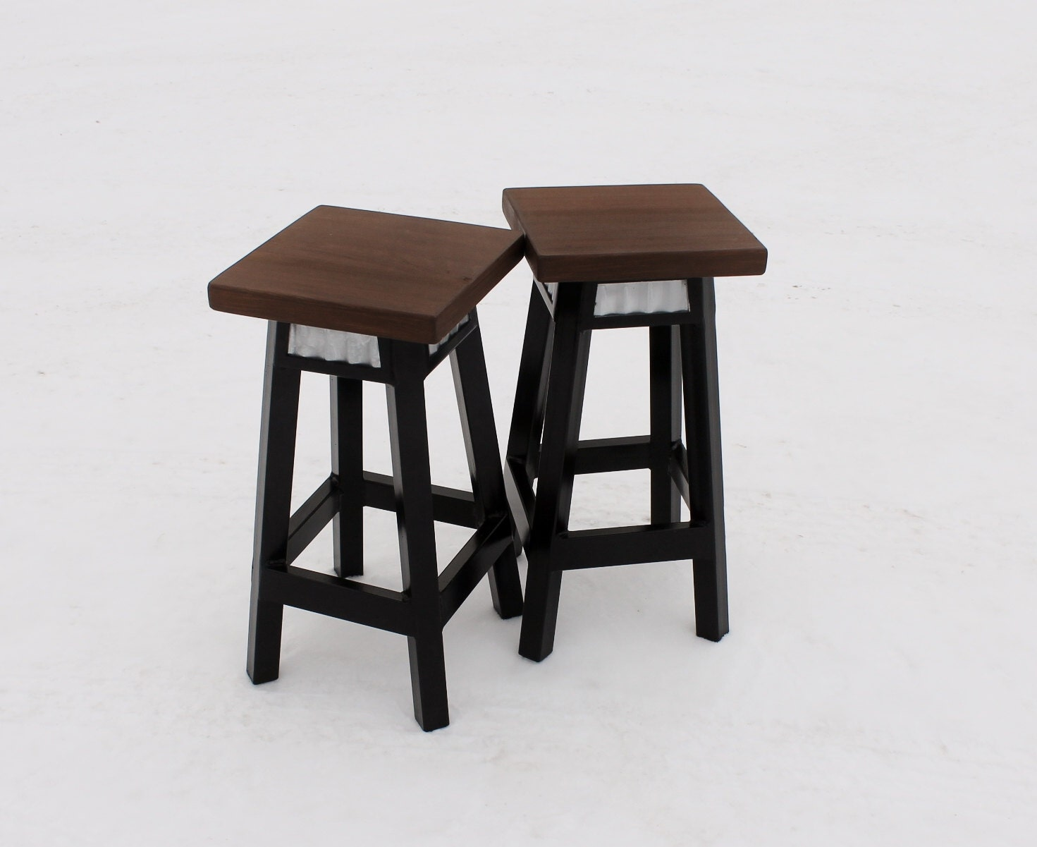 SET OF 4 Bar Stool wTin Inserts Metal Base by Keeriah on Etsy : ilfullxfull738587057mnp5 from www.etsy.com size 1471 x 1201 jpeg 140kB