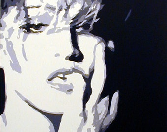Original Pop Art Painting - Madonna