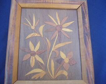 Vintage Wood Work, Wood on Wood Appliqué