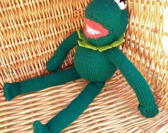 Kermit The Frog is a delightful character from The Muppet Show and he is ready to ship.
