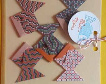 Origami fish set