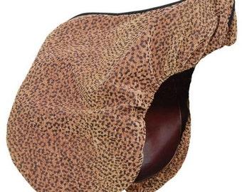 Cheetah Animal Print Dressage Custom-made Saddle Cover