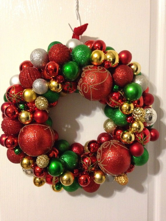 Clearance christmas ornament wreath for Christmas ornaments clearance