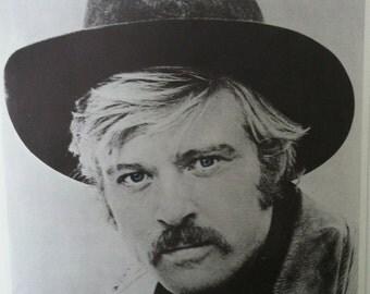 Robert Redford in Sundance Kid Vintage 70's Poster