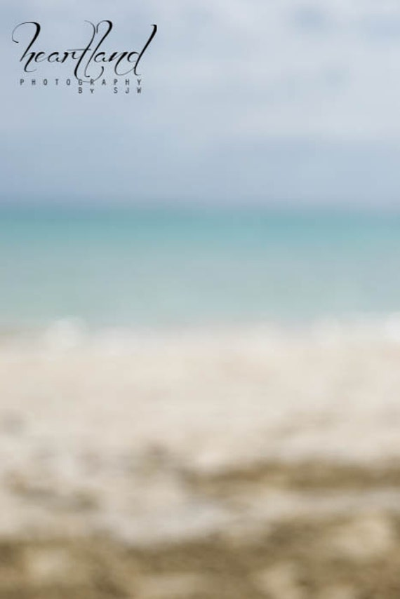 Large Sized Print, Abstract Ocean, Landscape, Blue, Ocean Photography, Beach Decor, Abstract Beach, Tropical Photo, Travel Photography