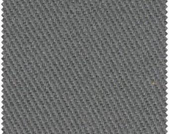 Crossroads Denim Fabric - Gunmetal Gray - by James Thompson