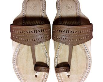 Men Leather Sandal- Kolhapuri Chappal DLC-M-034
