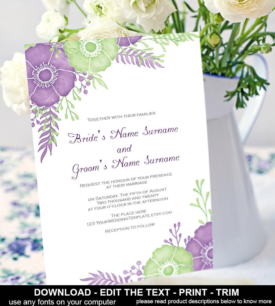 diy wedding invites etsy - 28 images - budget wedding ideas diy ...