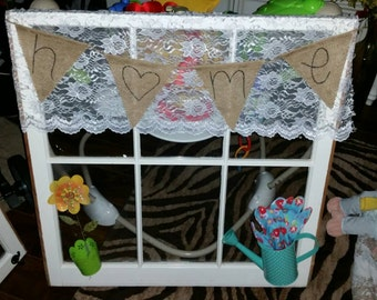 Decorated Home window
