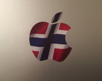 Norway / Norwegian Flag MacBook Decal