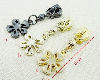 5# Metal Zipper Slider ,Bag Zipper Slider Replacement(Zipper Pull) for Metal Zipper. 5pcs