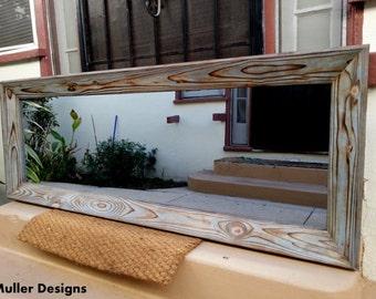 wood mirror / full length mirror