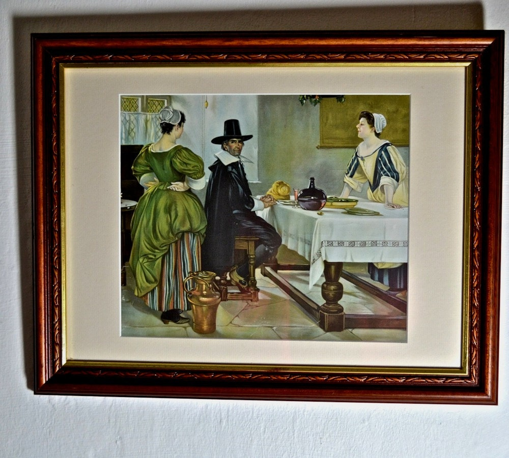 Framed print of kitchen interior wall art prints for Kitchen framed wall art