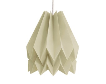 Origami Lamp | Plain Light Taupe | Design Lampshade | FREE SHIPPING*