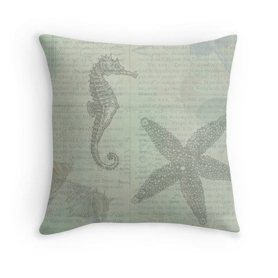 Decorative Pillows Beach Theme : Sea Theme Ocean Theme Beach Pillows Beach Cushions Beach