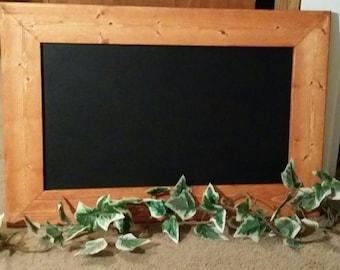 Rustic Decor, chalkboard  30 x 21  ,menu  board, guest sign in board , wedding guest sign in board, Blackboard, Office Board