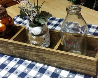Rustic Centerpiece,  table centerpiece,  wedding table centerpiece,  wooden centerpiece,  rustic table box centerpiece