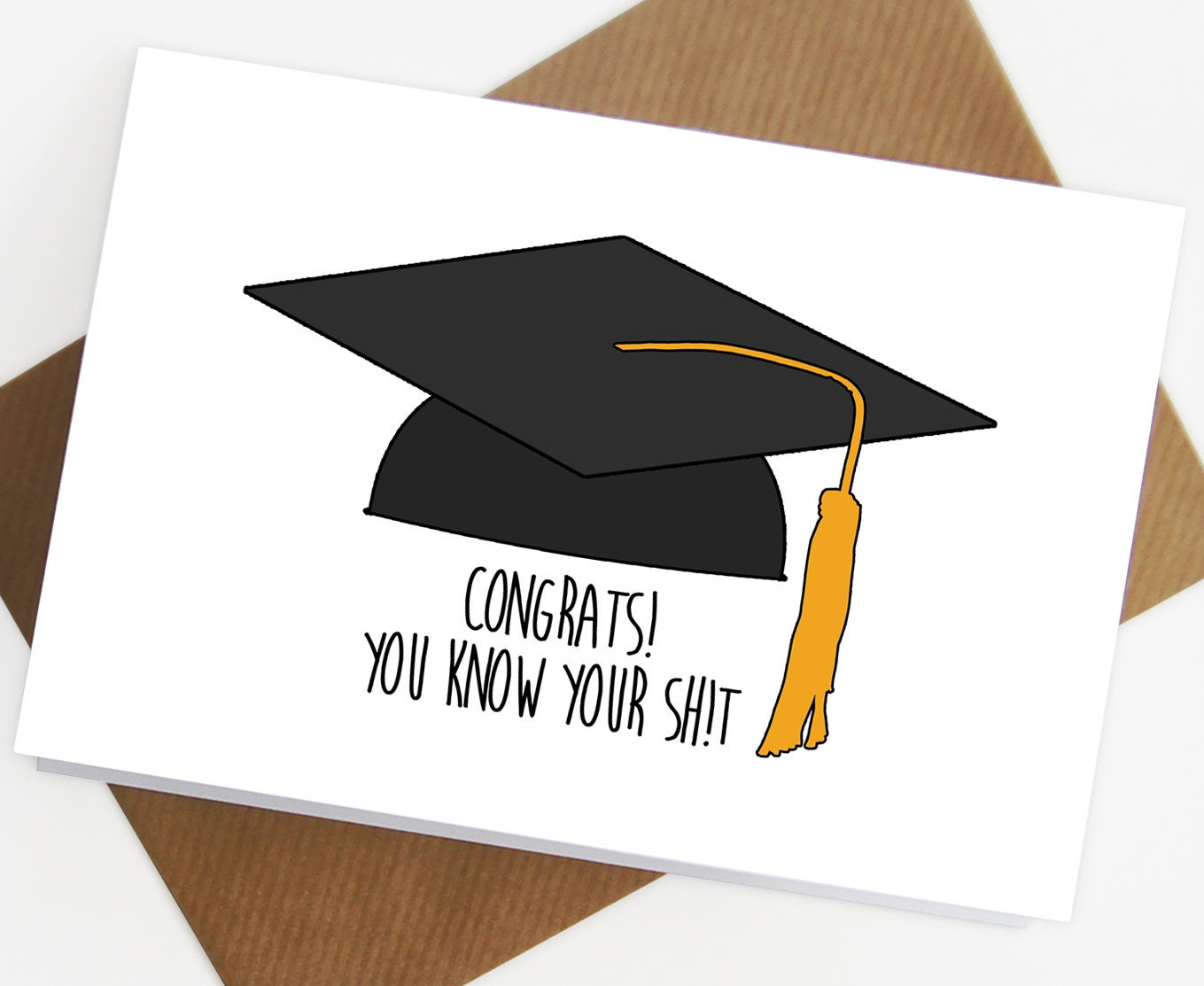 Graduation Card congratulations on your graduation by ...