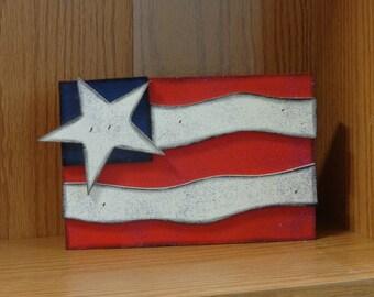Summer Decor-4th of July Decor- USA Decor-Americana decor- American Flag