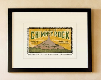 Chimney Rock - Nebraska