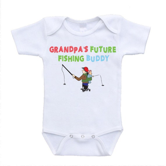 Grandpa s Future Fishing Buddy funny grandpa by