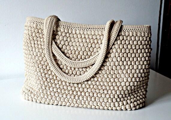 Crochet Pattern Crochet Bag Pattern Tote Pattern Crochet