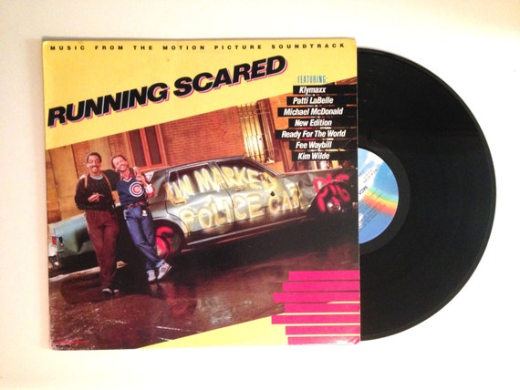 Lp Album Soundtrack Running Scared Billy Crystal Vinyl Record