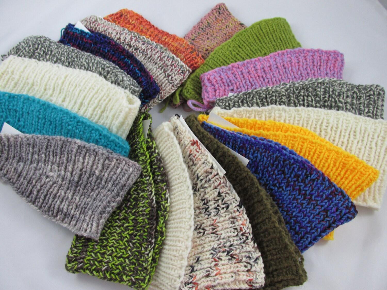 Winter Headband Knitting Pattern : Winter Knitted Headbands
