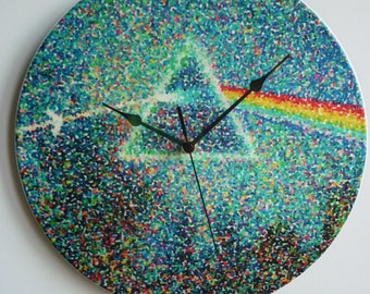 Pink Floyd - Dark Side of the Moon - Early Mix LP Art (1972) - 12″ Vinyl Record Wall Clock