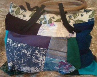 Unique Handmade Patchwork Occassional Bag