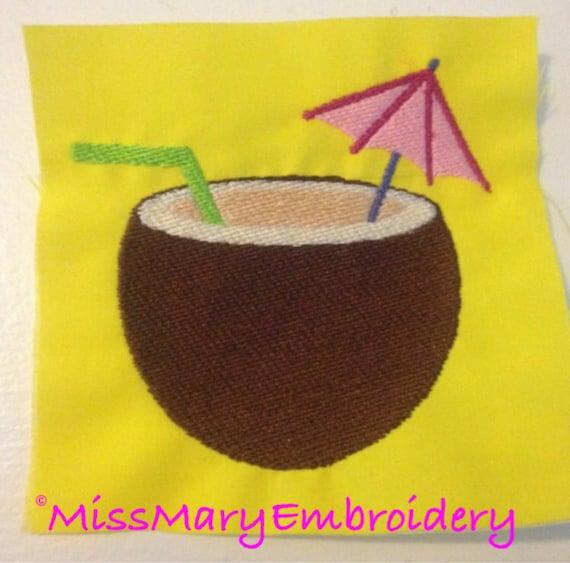 Coconut Drink Umbrella