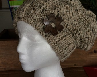 Beginner Knit Kit Fluent Waters Slouch Hat