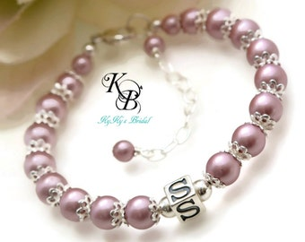 Personalized Baby Bracelet, Baptism Gifts, Baby Bracelet, New Baby Gift, Baby Bracelets, Custom Bracelet, Little Girls Jewelry