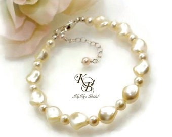 Pearl Bracelet, Bridal Bracelet, Wedding Jewelry, Swarovski Pearl Bracelet, Bridesmaid Jewelry, Bridal Jewelry, Pearl Bridal Jewelry, Bride