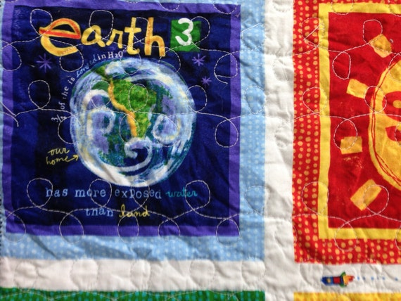 Solar system panel quilt for Solar system fabric panel
