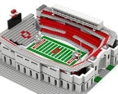 OSU Buckeyes Football, Ohio Stadium (The 'Shoe), Brick model
