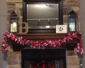 Valentines Day Rag Light Garland